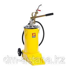 Ручное маслораздаточное устройство с колесами, 16 л. Meclube 1322