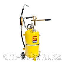 Ручное маслораздаточное устройство с колесами, 24 л. Meclube 1326