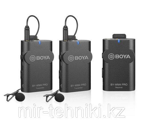 Радио петличный Boya BY-WM4 PRO-K2