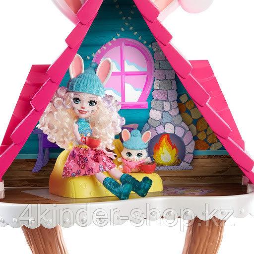 """Mattel Enchantimals Игровой Набор Энчантималс """"Снежная долина"""" Лыжный домик - фото 3"""