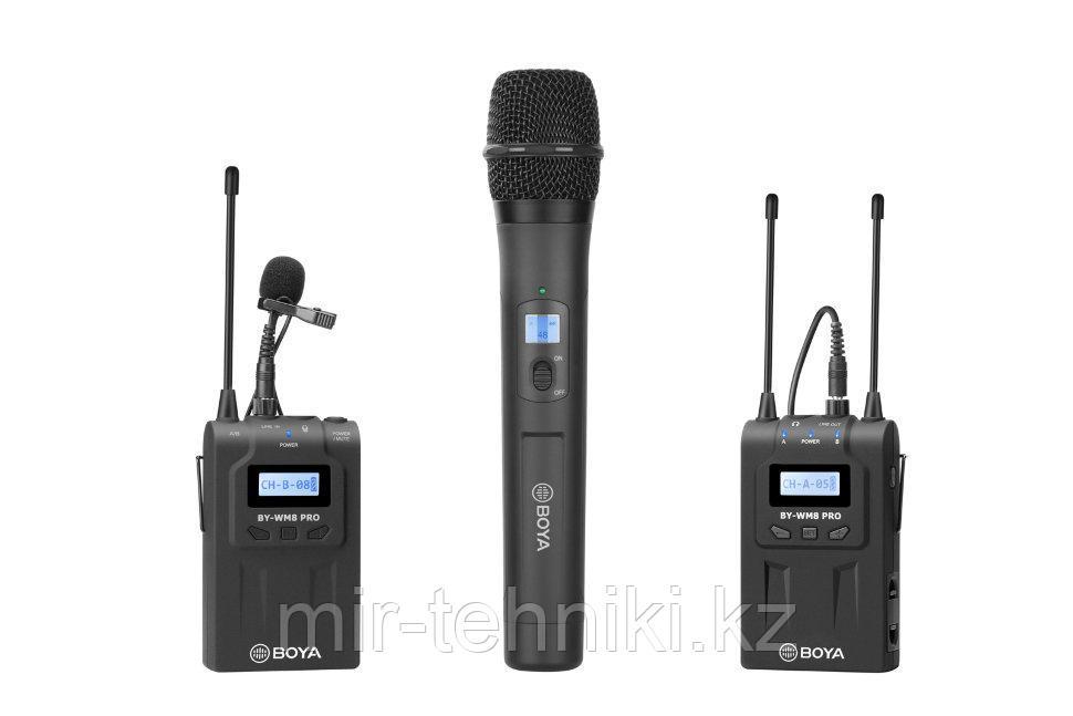 Микрофон Boya BY-WM8 PRO-K4 (BY-WM8 PRO-K4)