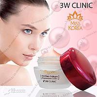 Collagen Regeneration Cream [3W CLINIC] Крем с гидролизованным морским коллагеном 60 мл
