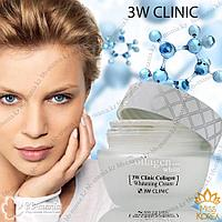 Collagen Whitening Cream [3W CLINIC] осветляющий крем 60 мл