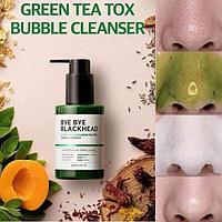 Bye Bye Blackhead 30 Days Miracle Green Tea Tox] Bubble Cleanser [SOME BY MI]