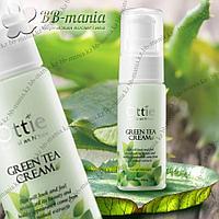 Green Tea Cream [Ottie] Дневной крем с зеленым чаем. 40 мл