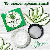 Aloe Water Blue Cream [Jigott] Успокаивающий крем алое для чувствительной кожи, 70 мл