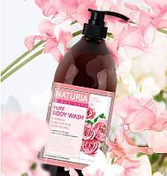 Naturia PURE BODY WASH Rose & Rosemary [EVAS]