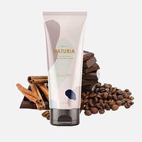 Naturia Creamy Oil Salt Scrub Choco Latte [EVAS]