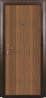 Металлическая дверь СИТИ 2 - Венге, бел.дуб.