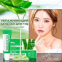 Real Aloe Vera Essential Lip Balm [FarmStay]