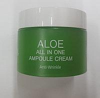 Aloe All in One Ampoule Cream [Ekel] Увлажняющий крем алое, 50 мл
