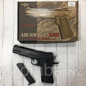 Игрушечный пистолет Кольт (Colt) черный