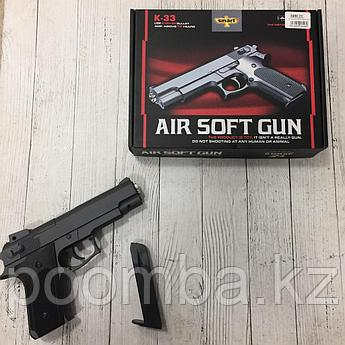 Игрушечный пистолет черный