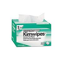Салфетки безворсовые, Kimtech-kimwipes,  для очистки волоконно-оптических коннекторов
