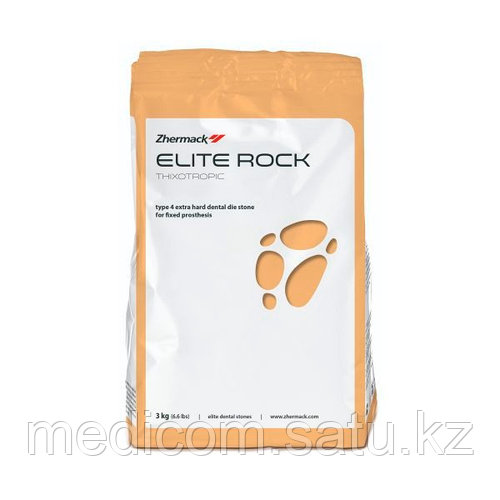 """""""Элит рок"""" гипс 4-го класса для воспроизведения культи зуба и работы с несъемными протезами, 1 кг"""
