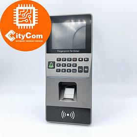 SmartLock DS-F16D терминал контроля доступа: Fingerprint +кнопки + карта +RS485+USB+TCP + WG26 + релейный выхо