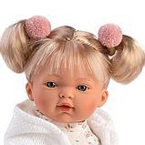 LLORENS: Кукла Роберта 33 см., блондинка в белом жакете 33116, фото 2