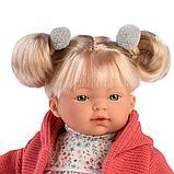 LLORENS: Кукла Аитана 33 см., блондинка в красном жакете 33124, фото 3