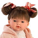 LLORENS: Кукла Рита 33 см., брюнетка в розовом жакете 33126, фото 3