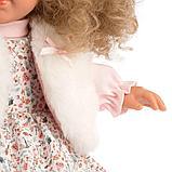LLORENS: Кукла Елена 35 см., блондинка в меховом жилете 53530, фото 3