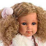 LLORENS: Кукла Елена 35 см., блондинка в меховом жилете 53530, фото 4