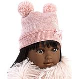 LLORENS: Кукла Мартина 40 см., мулатка в розовом пальто и шапочке 54031, фото 4