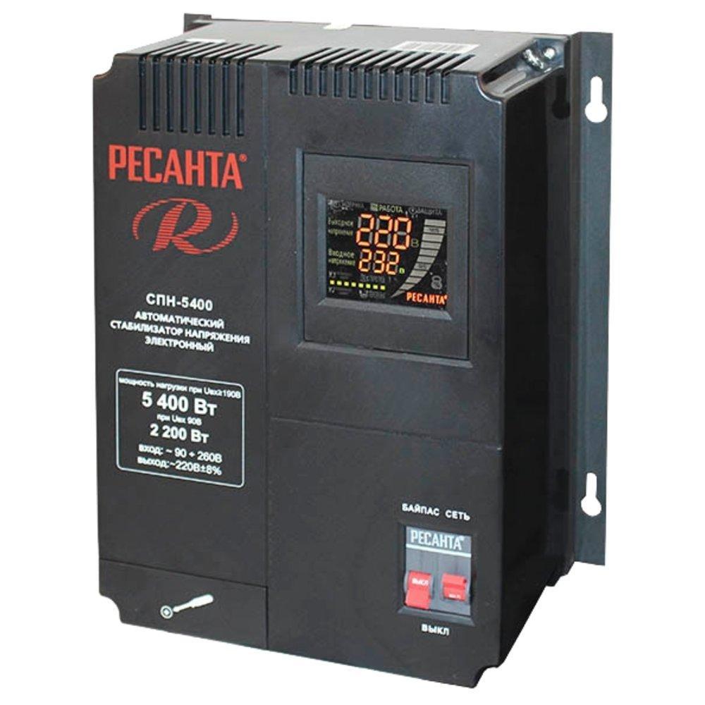 Cтабилизатор пониженного напряжения РЕСАНТА-СПН-5400-3,5кВт Настенный