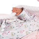 LLORENS: Пупс Малышка 42 см., в пижаме скучающая 74084, фото 5