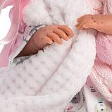 LLORENS: Пупс Малышка 42 см., в пижаме скучающая 74084, фото 4