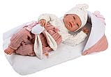 LLORENS: Пупс Малышка 44 см., с розовым матрасиком 84436, фото 3