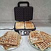 Вафельница для бельгийских вафель Kitfort КТ-1620, фото 5