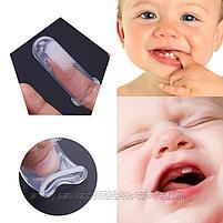 Детская зубная щетка-напальчник, фото 3
