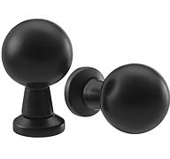 БАГГАНЭС Ручка мебельная, черный, 20 мм