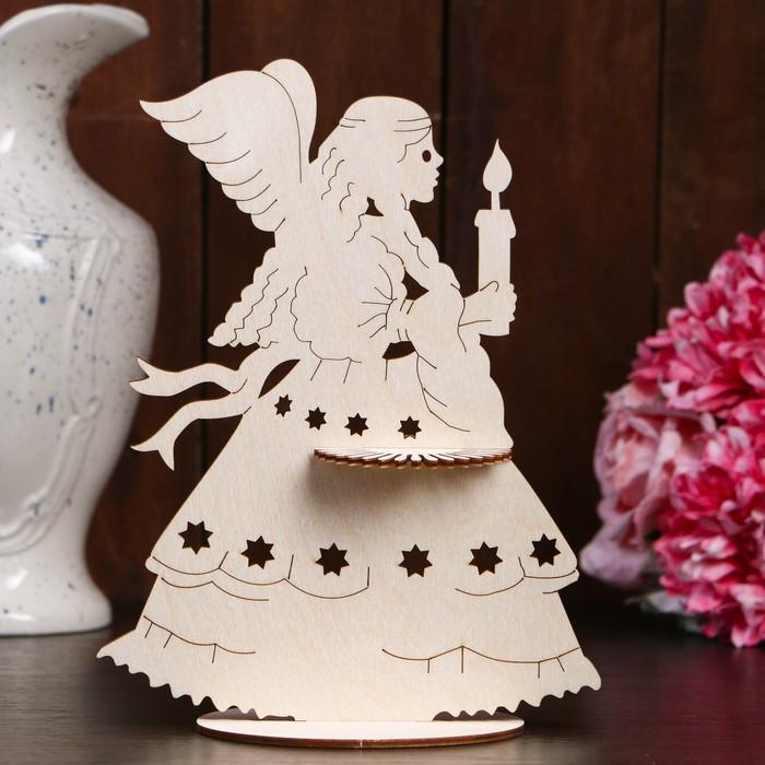 Салфетница «Ангел со свечой», 24,5×18,5×0,3 см