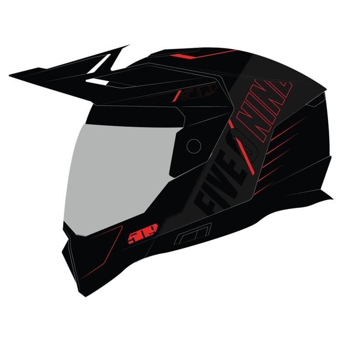 Шлем 509 Delta R4 Fidlock®, размер L, чёрный, красный
