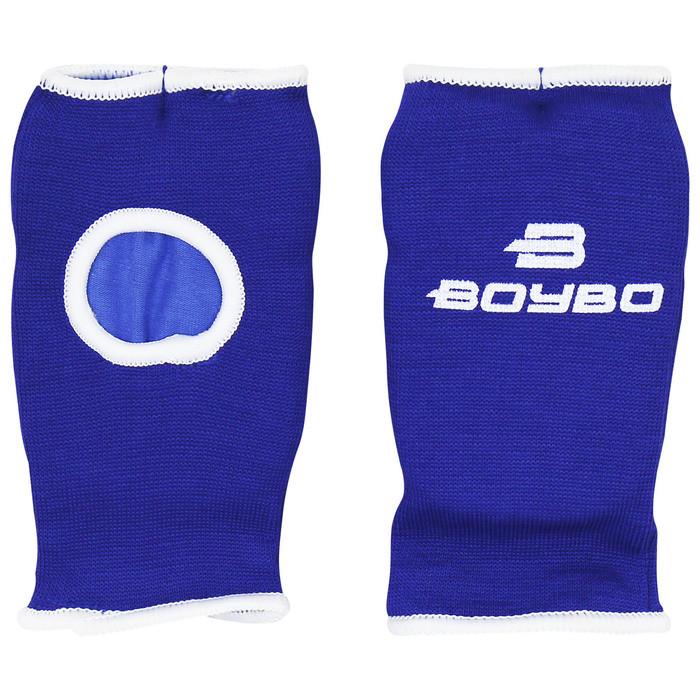 Накладки для каратэ BoyBo, х/б, цвет синий, размер XS