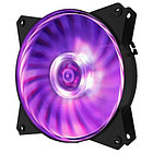 Вентилятор для корпуса CoolerMaster MasterFan MF121L RGB 120x120x25 1200RPM 32CFM 3-pin R4-C1DS-12FC