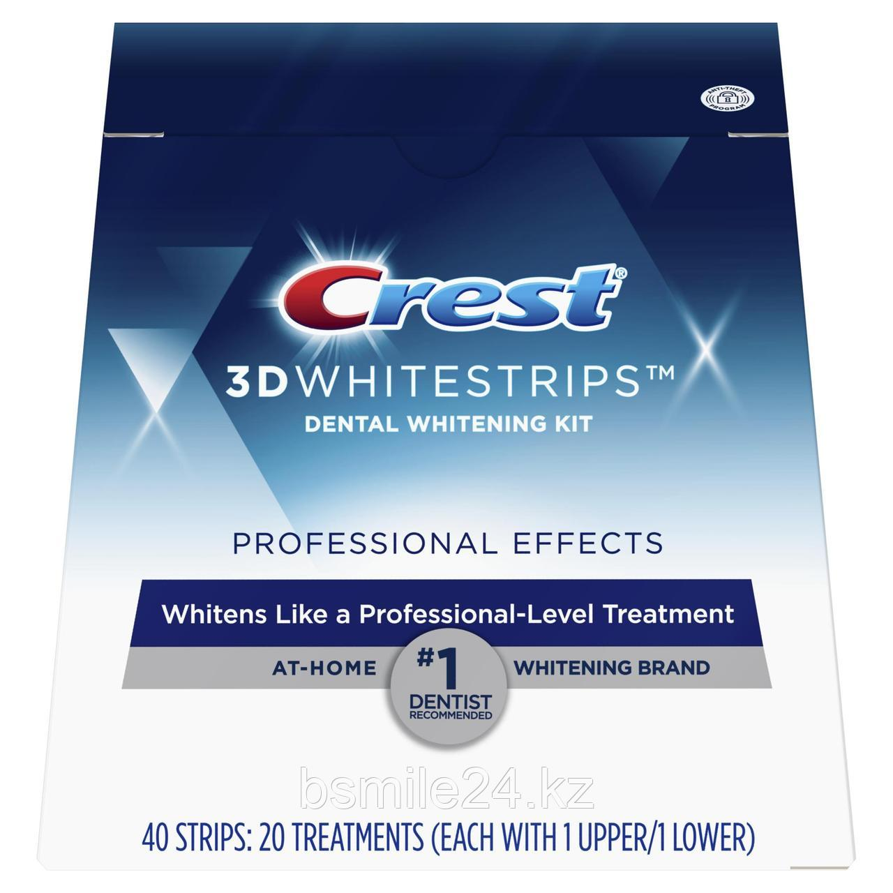 Полоски Crest 3d white Professional Effects