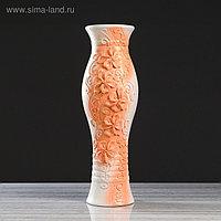 """Ваза напольная """"Даша"""", декор лепкой, 70 см, керамика"""