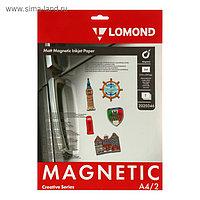 Бумага с магнитным слоем для струйной печати A4 LOMOND, 2020346, 2 листа, 620 г/м², матовая