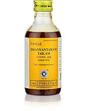 Дханвантарам Тайлам, противовоспалительное и омолаживающее массажное масло, 200 мл