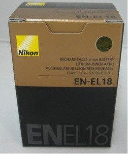 Аккумулятор Nikon EN-EL18, фото 2