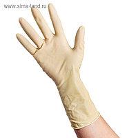 Перчатки латексные неопудренные Extra, размер L, смотровые, нестерильные, 50 шт/уп, цена за 1 шт, цвет белый