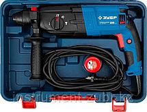 Перфоратор SDS-plus, ЗУБР Профессионал ЗП-26-800 К, 3 Дж, 0-1200 об/мин, 0-4800 уд/мин, 800 Вт, кейс, фото 2