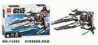 Конструктор LARI Space Wars Перехватчик СИД Чёрного аса Арт.11421 (Аналог LEGO Star Wars 75242)