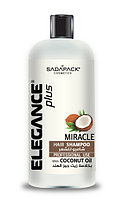 Elegance Шампунь для волос с кокосовым маслом Miracle 1000 мл