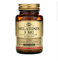 Solgar, Мелатонин, 3 мг, 120 жевательных таблеток