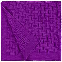 Плед Biscuit, фиолетовый, фото 1
