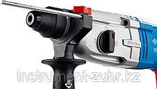Перфоратор SDS-plus, ЗУБР Профессионал ЗП-28-800 К, металл редуктор, 3.2Дж, 0-4800уд/мин, 800 Вт, кейс, фото 2