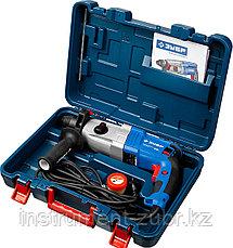 Перфоратор SDS-plus, ЗУБР Профессионал ЗП-28-800 К, металл редуктор, 3.2Дж, 0-4800уд/мин, 800 Вт, кейс, фото 3